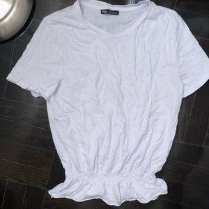Zara Medium White T